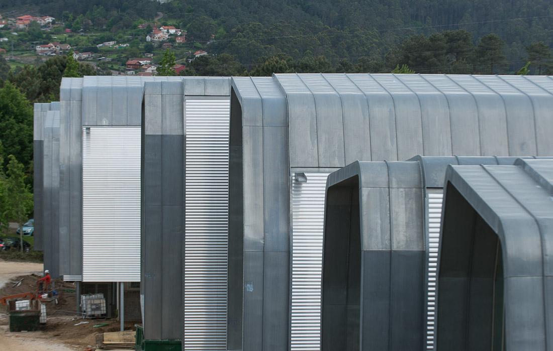 Edificio del Centro de Investigaciones Biomédicas (CINBIO) de la Universidade de Vigo