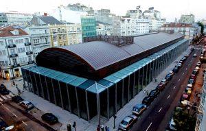 Mercado de la Plaza de Lugo en A Coruña