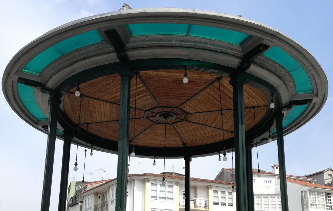 Rehabilitación de Palco de Música en Betanzos (A Coruña)