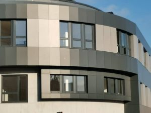 Fachada ventilada panel fenólico