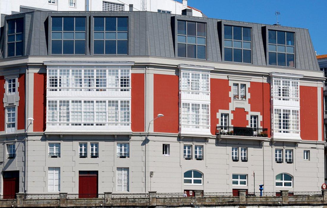 Edificios de viviendas en O Parrote (A Coruña)