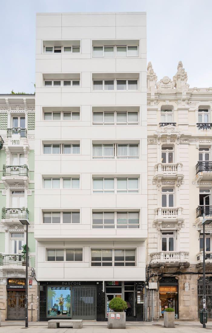 Edificio de viviendas en Plaza de Lugo (A Coruña)