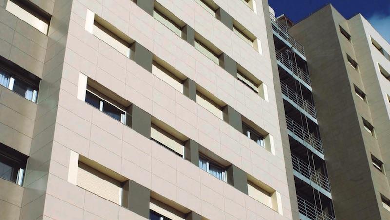 Fachadas ventiladas de cerámica