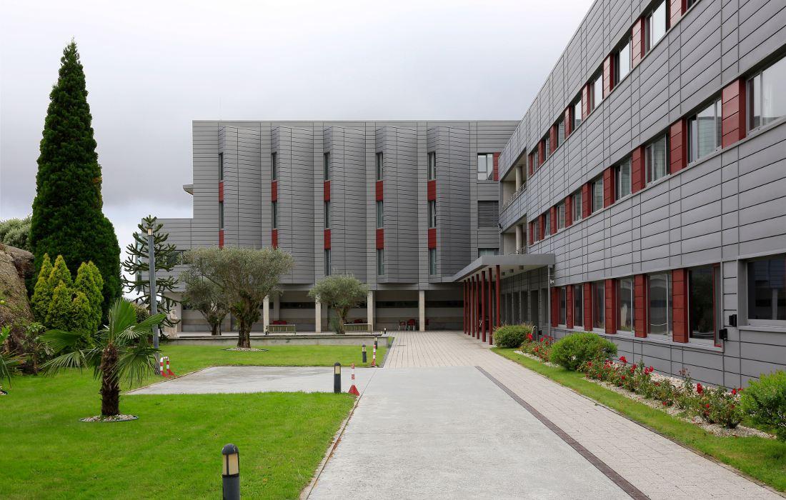 Residencia de Mayores de Eirís - Fachada exterior