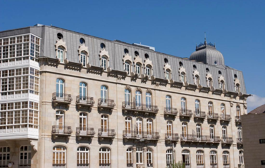Edificio Simeón en Vigo