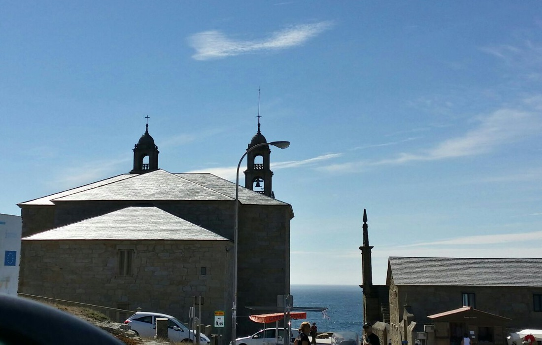 Santuario Virxe da Barca en Muxía (A Coruña)